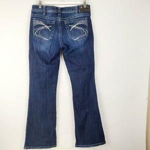 Silver Brand Women's Blue Jeans - Suki Mid Bootcut